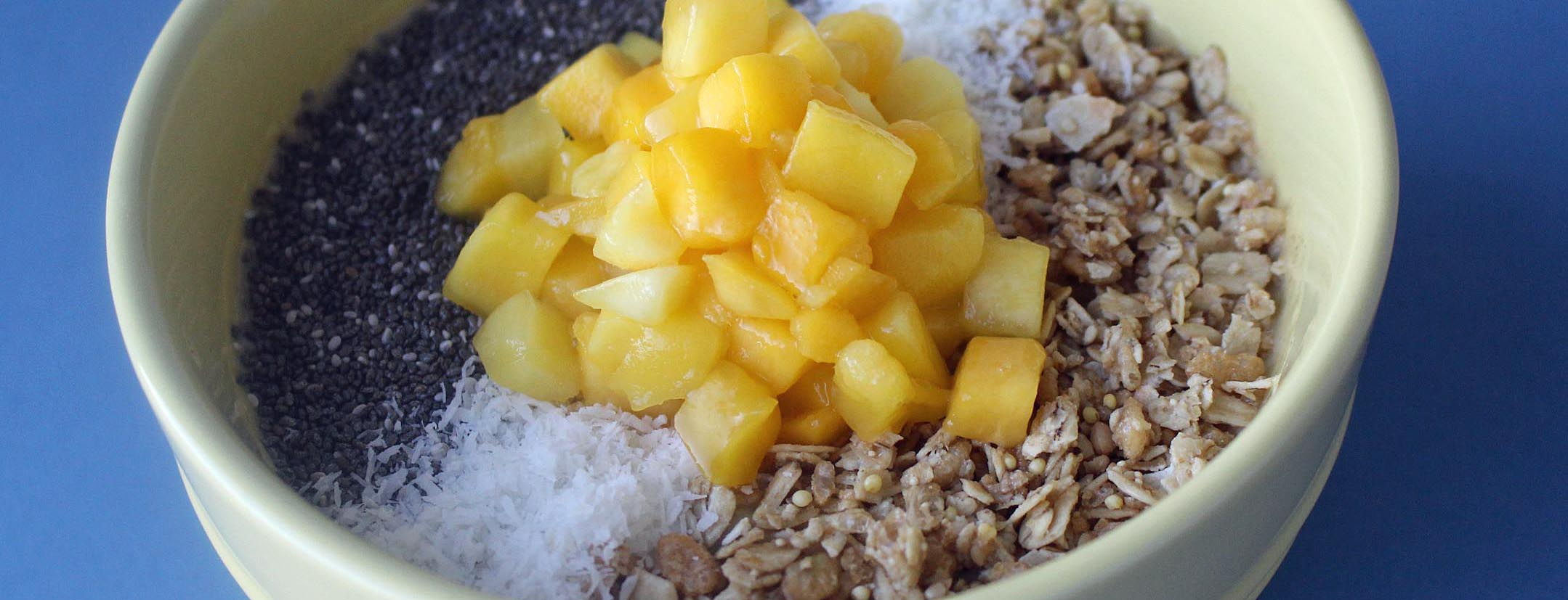 Photo of Mango and Chia Smoothie Bowl