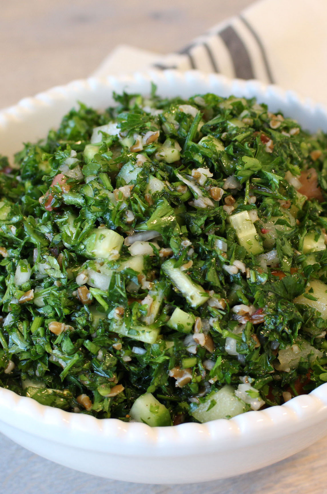 Photo of Strawberry and Apple Tabbouleh