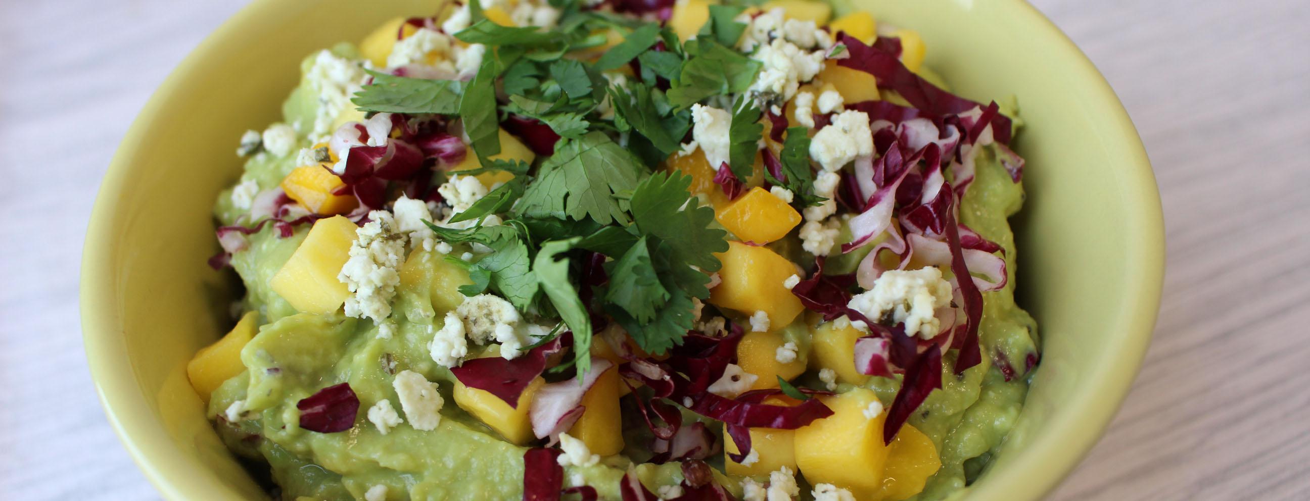Photo of Avocado and Mango Mash Bowl