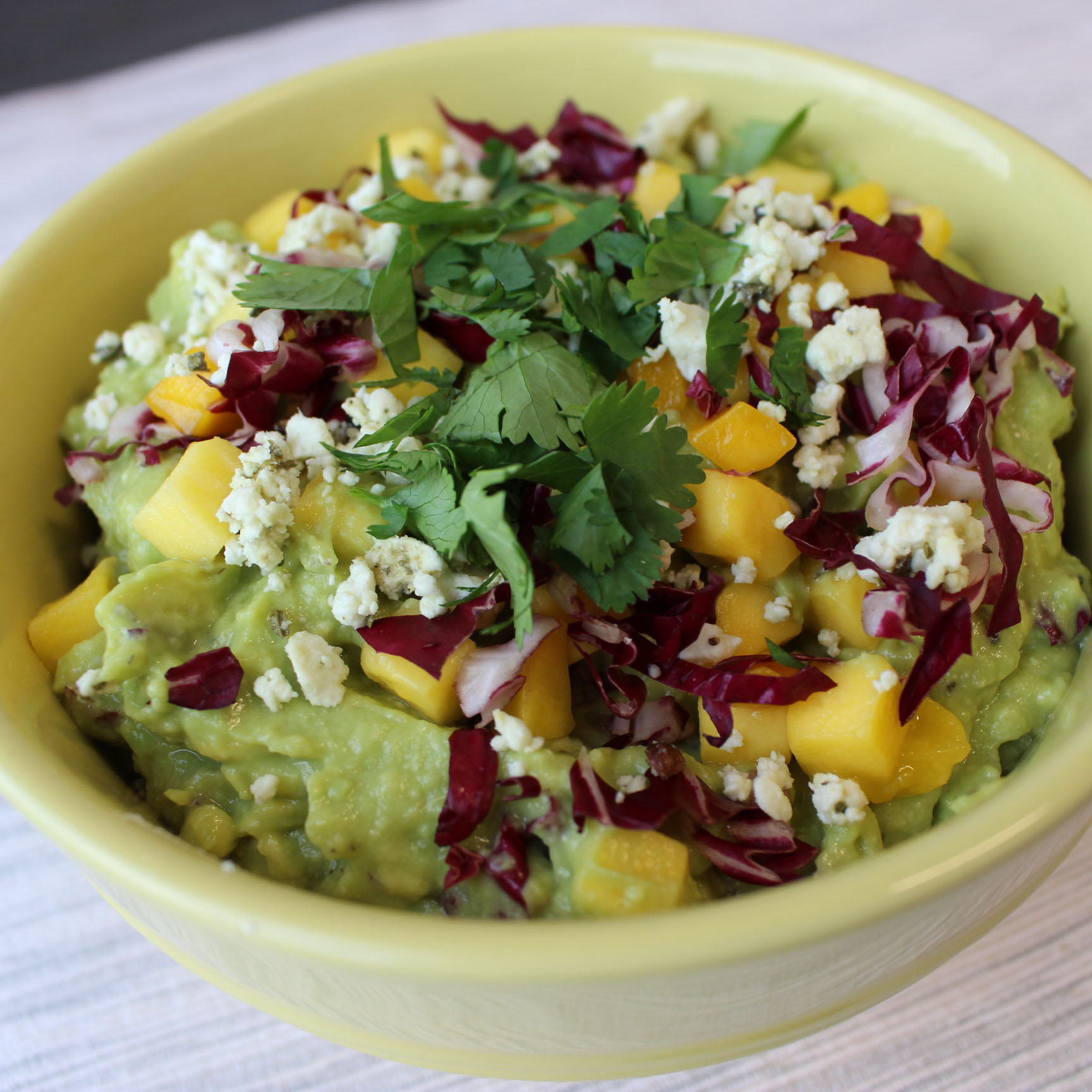 Avocado and Mango Mash Bowl