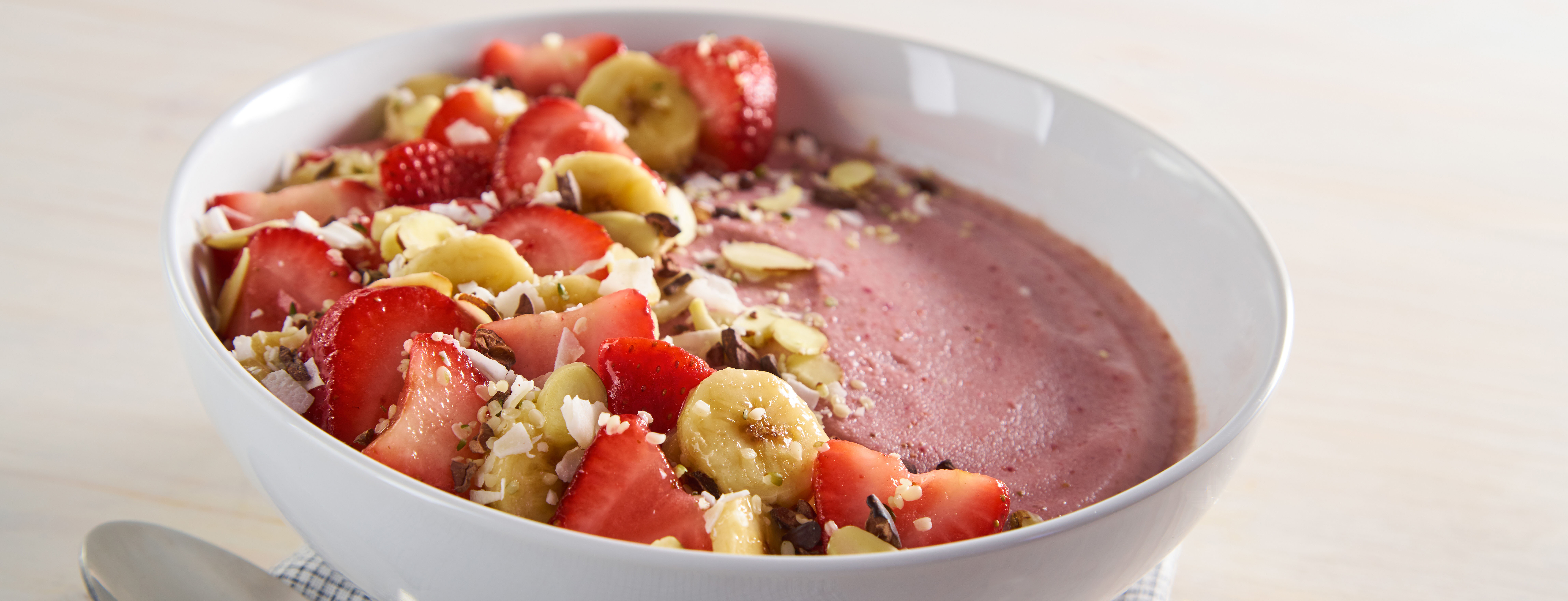 Photo of Strawberry Banana Smoothie Bowl