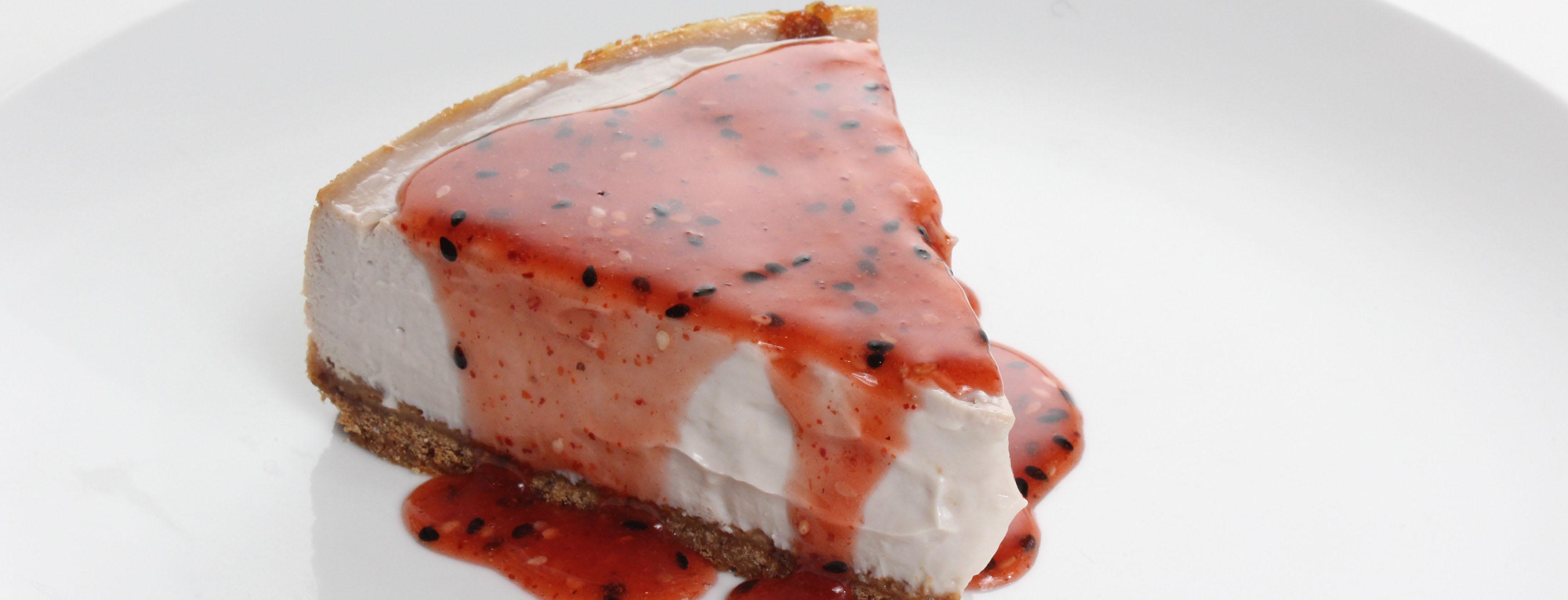 Photo of Strawberry Togarashi Tofu Cheesecake
