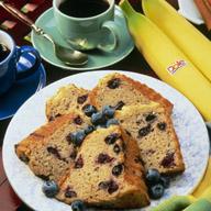 Banana Blueberry Coffee Ring