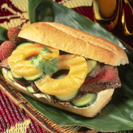Grilled Thai Steak Sandwich