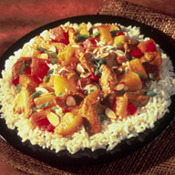 Curried Chicken with Tropical Fruit