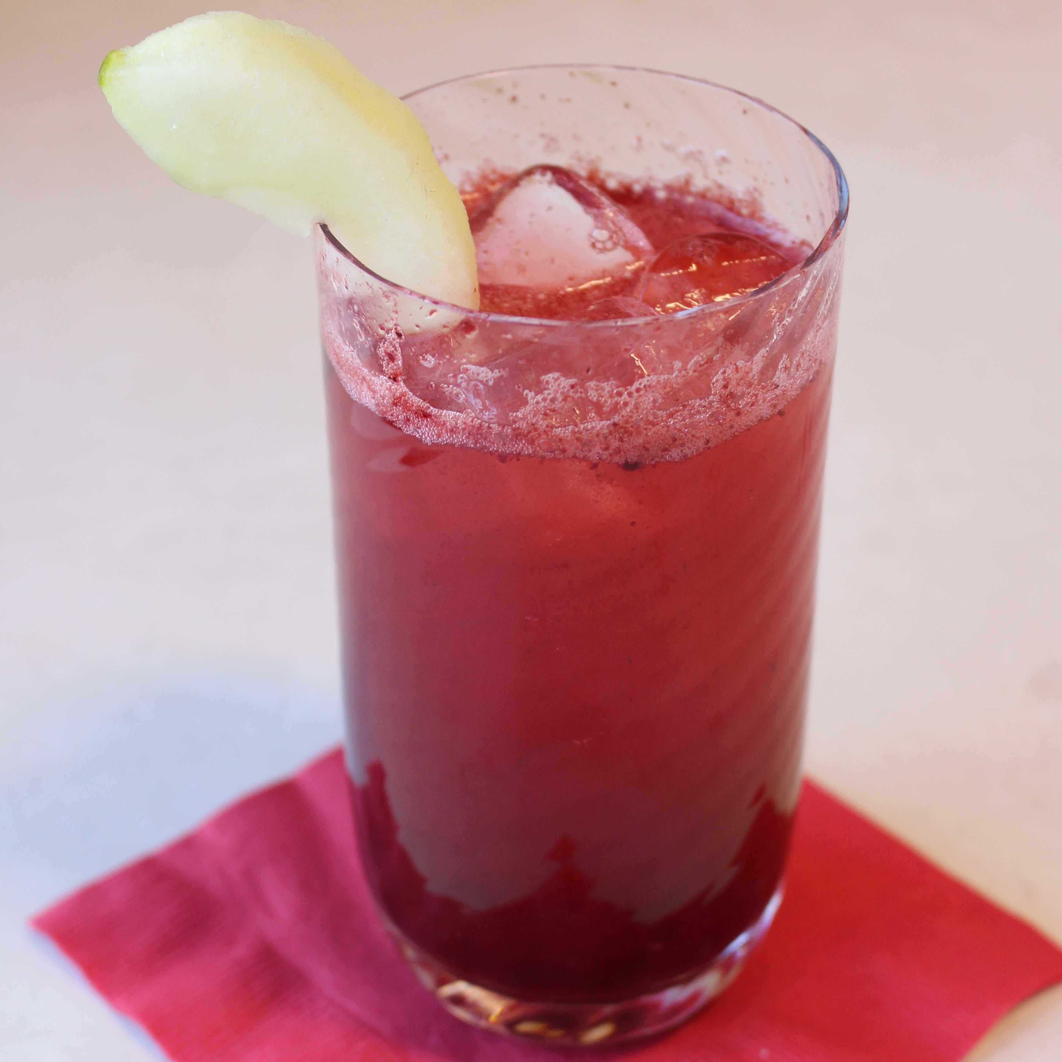 Blackberry Apple Cider Vinegar Shrub