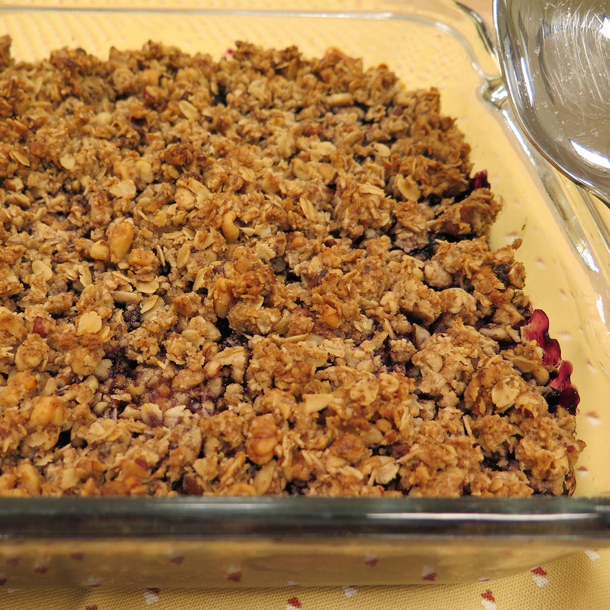 Blueberry Maple Crisp