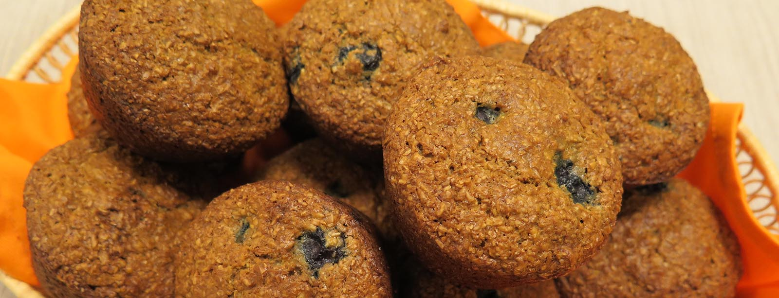 Photo of Bran Blueberry Maple Muffins