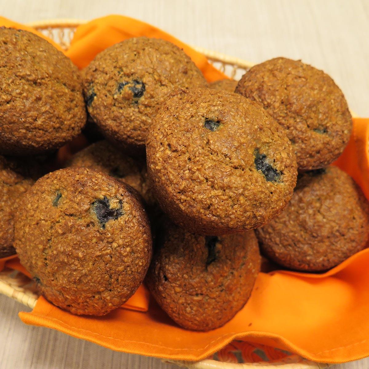Bran Blueberry Maple Muffins