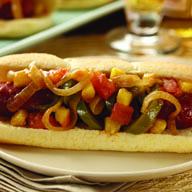 Brazilian Sausage Sandwich
