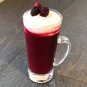 Mixed Berry Cheese Tea