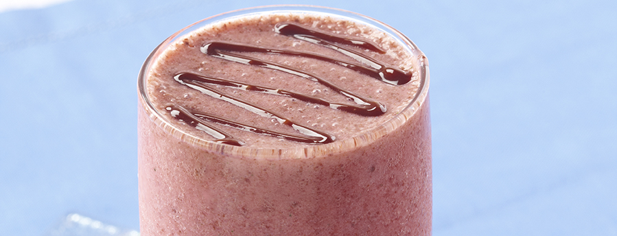 Photo of Chocolate Dipped Strawberry Smoothie