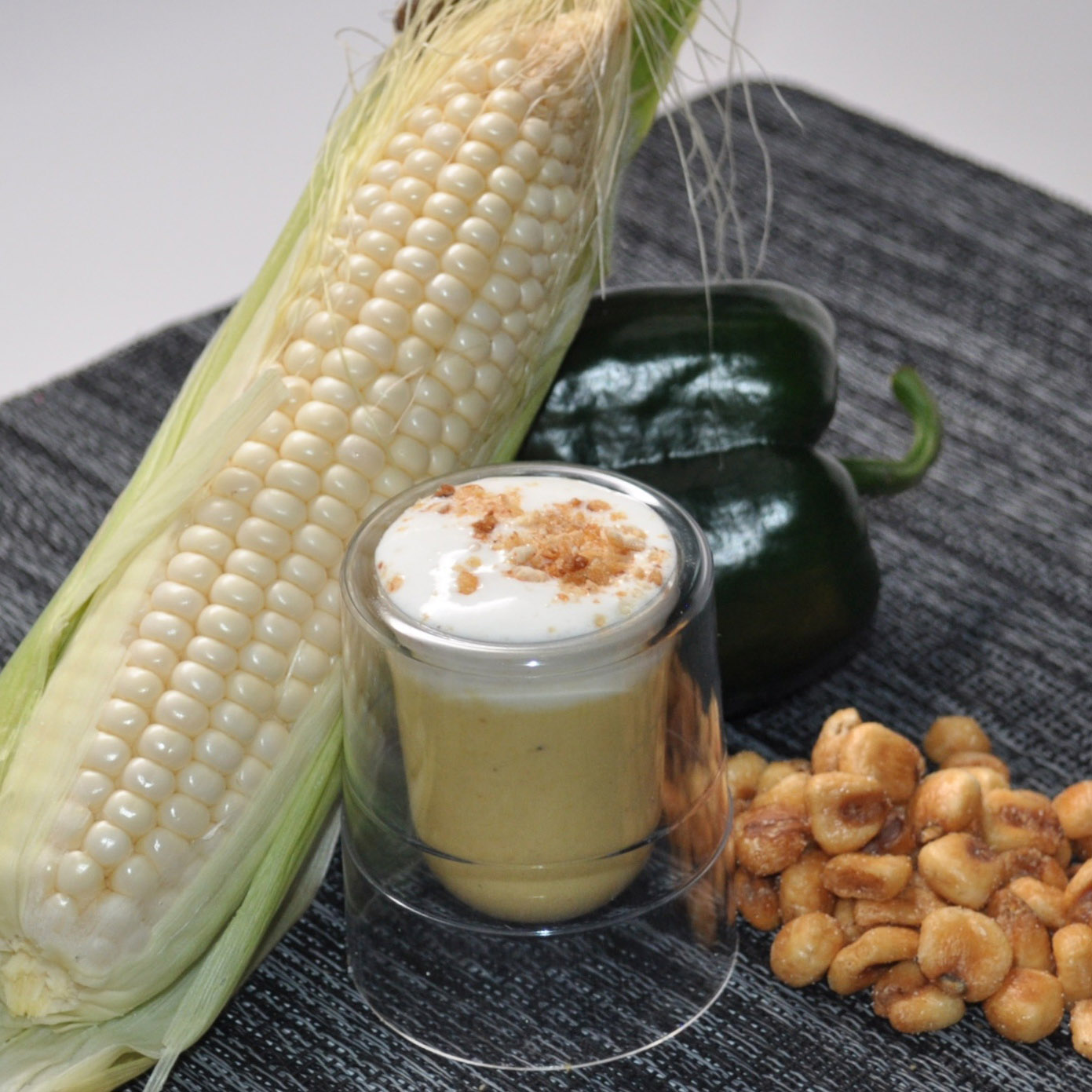 Corn Poblano Soup