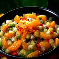 Exotic Mandarin Orange and Pineapple Salsa