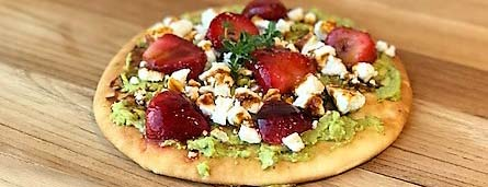 Photo of Sumac Strawberry Flatbread