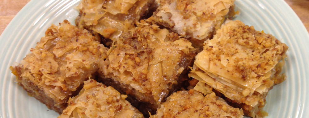 Photo of Honey Mandarin Baklava