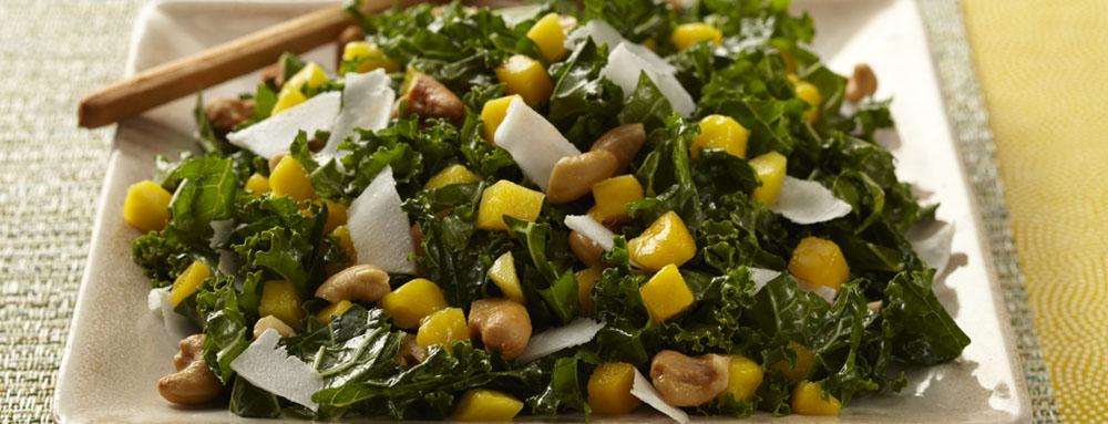 Photo of Mango Coconut Kale Salad