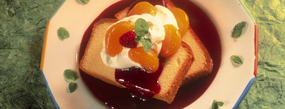 Photo of Mandarin Orange Shortcake