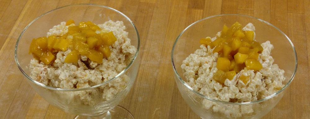 Photo of Mango Ginger Couscous Pudding