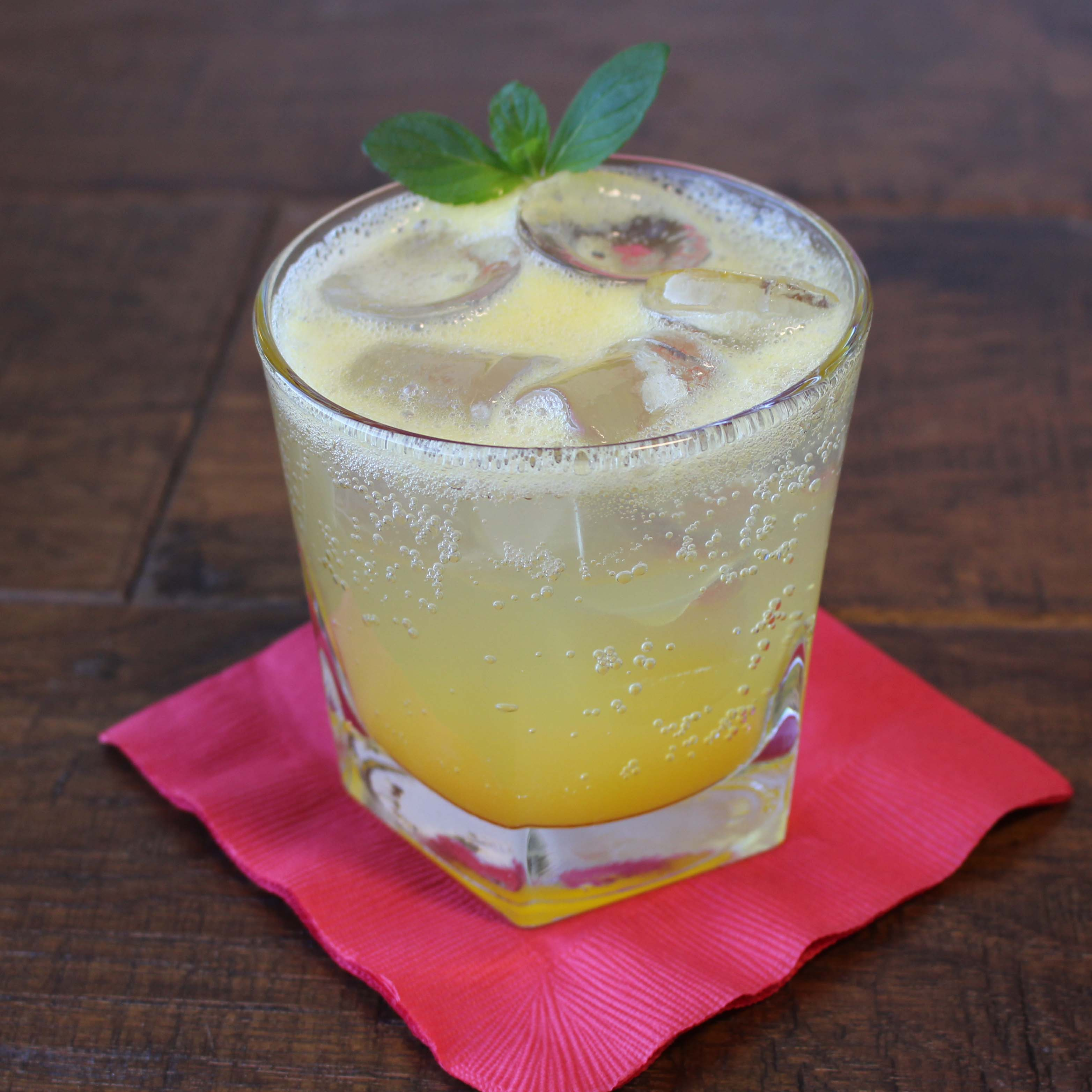Mango Mint Shrub