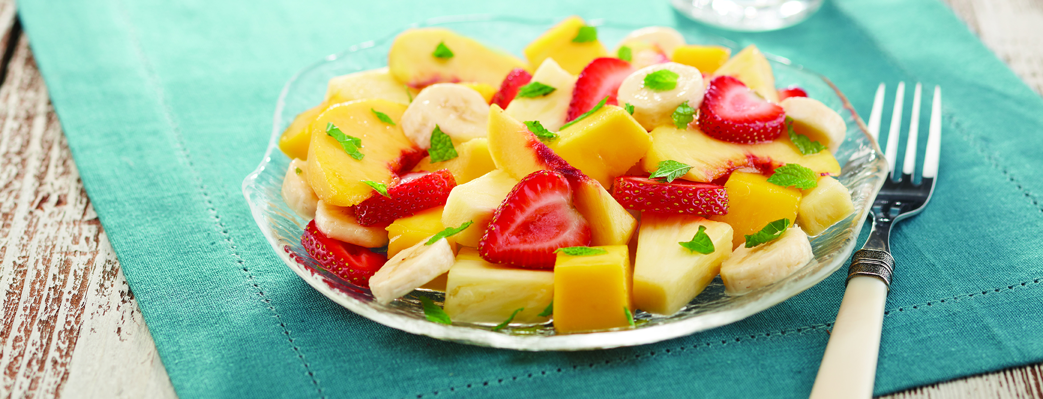 Photo of Minted Ginger Fruit Salad