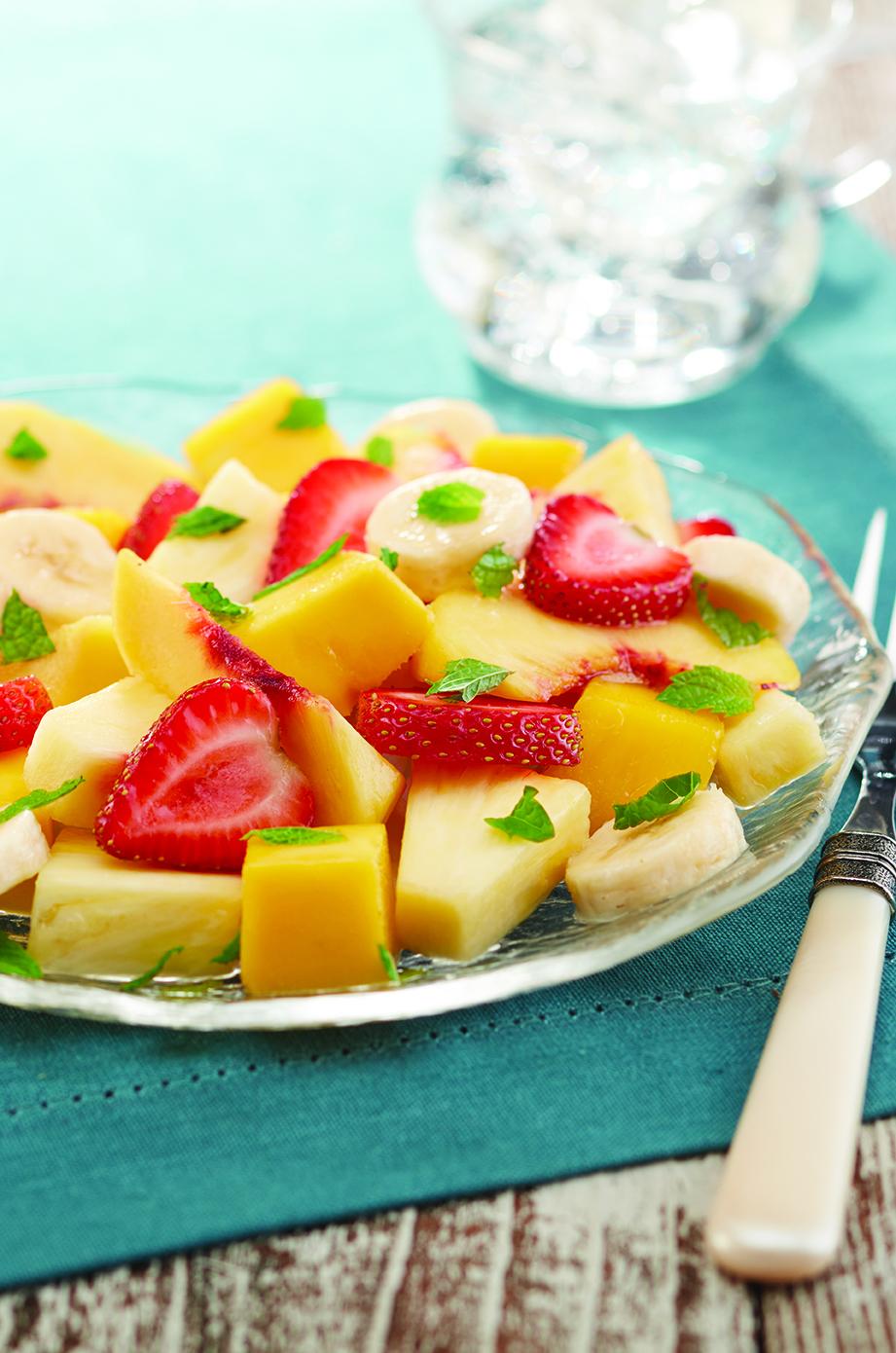 Photo of Minted Ginger Fruit Salad