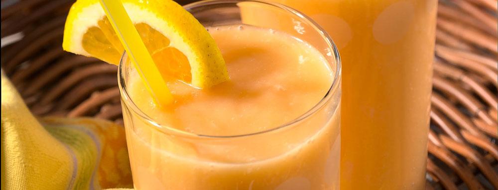 Photo of Orange Peach Smoothie