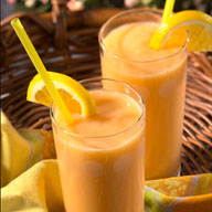 Orange Peach Smoothie