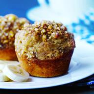 Banana Peanut Butter Muffins