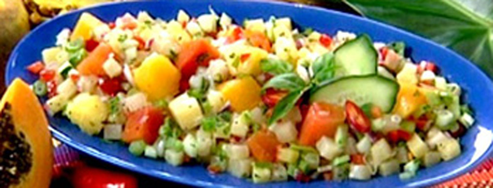 Photo of Pacific Rim Tropical Fruit and Green Chili Salsa