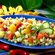 Pacific Rim Tropical Fruit and Green Chili Salsa