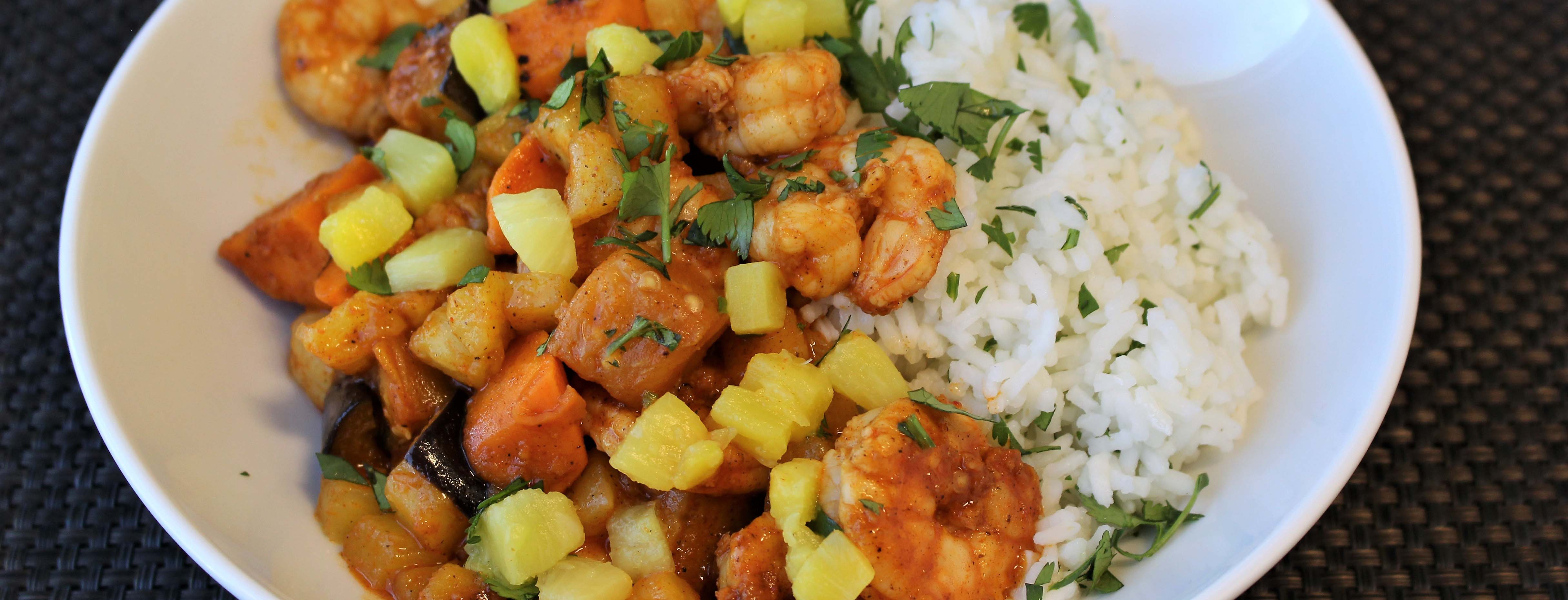 Photo of Piri Piri Shrimp and Pineapple Stir Fry
