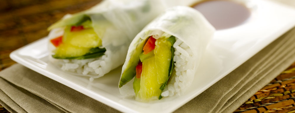 Photo of Vietnamese Pineapple Spring Rolls