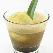 Pineapple Chocolate Tropical Float