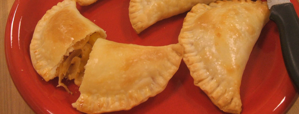 Photo of Savory Peach Empanadas