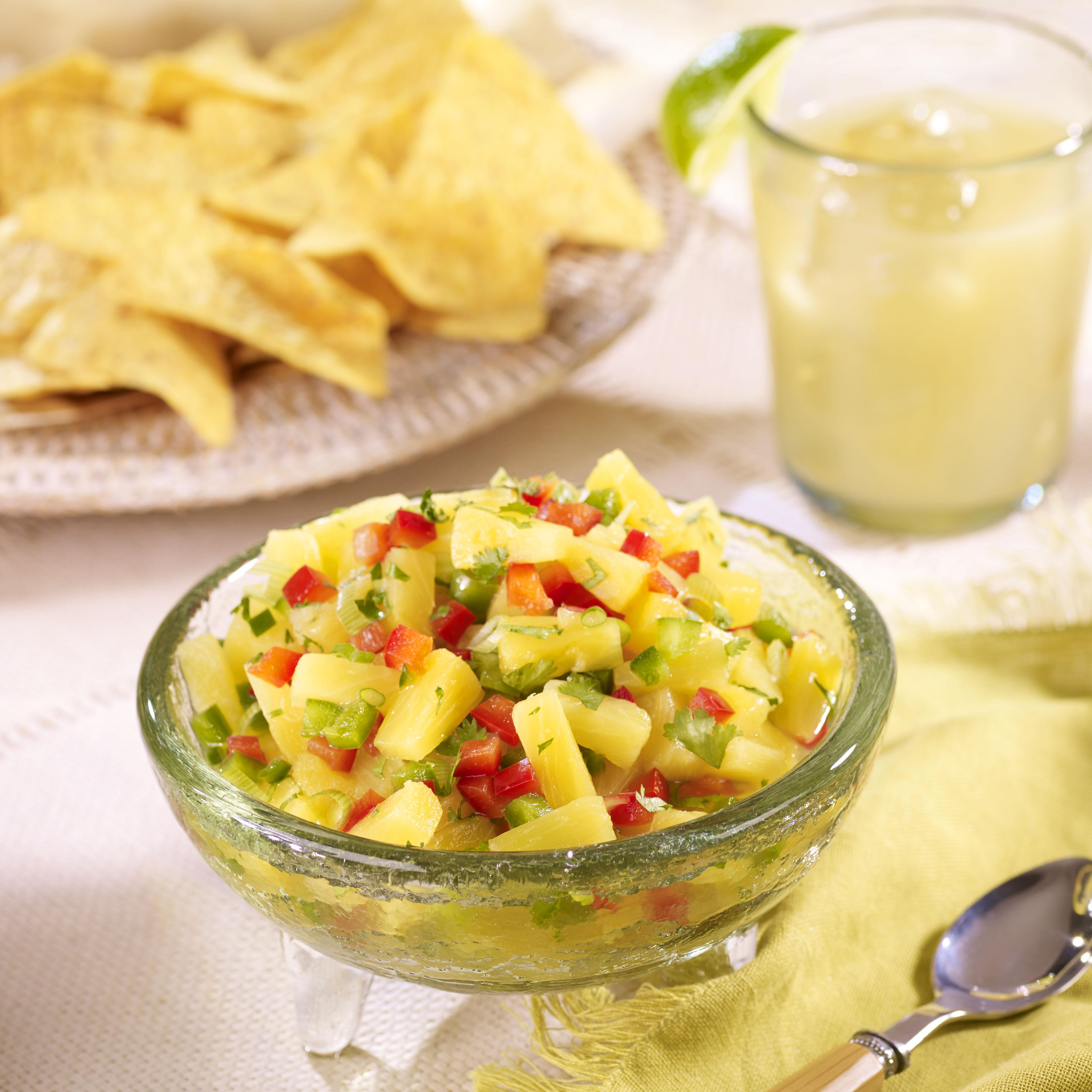 Spunky Pineapple Salsa
