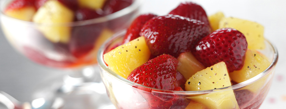 Photo of Sweet Balsamic Fruit Salad
