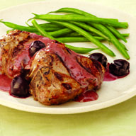 Turkish Lamb Chops with Tart Cherry Gastrique
