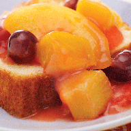 Warm Mixed Fruit Topping