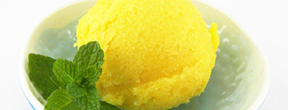 Photo of Mango Ginger Sorbet