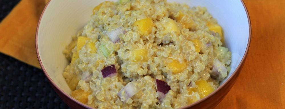 Photo of Mango Curry Quinoa Salad