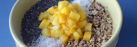 Mango Chia Smoothie Bowl