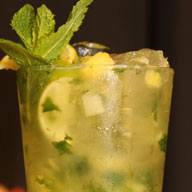 Pineapple Pear Mojito