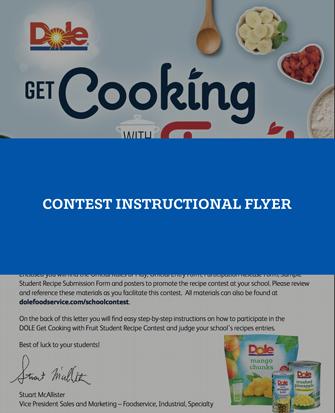School contest flyer