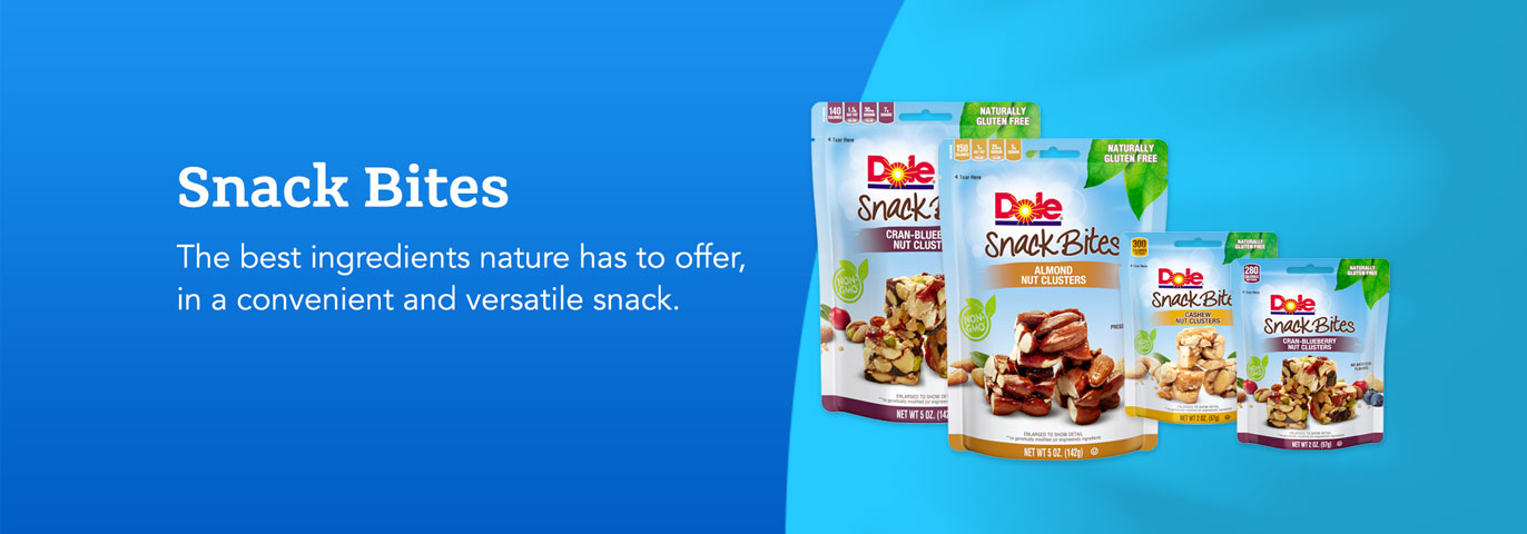 Snack bites banner