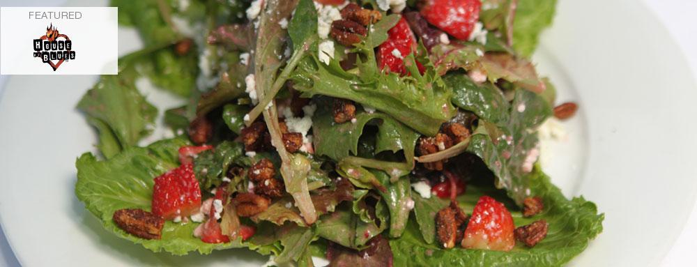 Photo of Strawberry Feta Cheese Salad