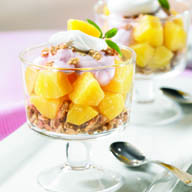 Yogurt Crunch Parfaits