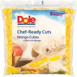 2/5# Mango Cubes IQF