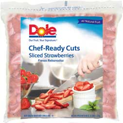 2/5# Sliced Strawberry IQF
