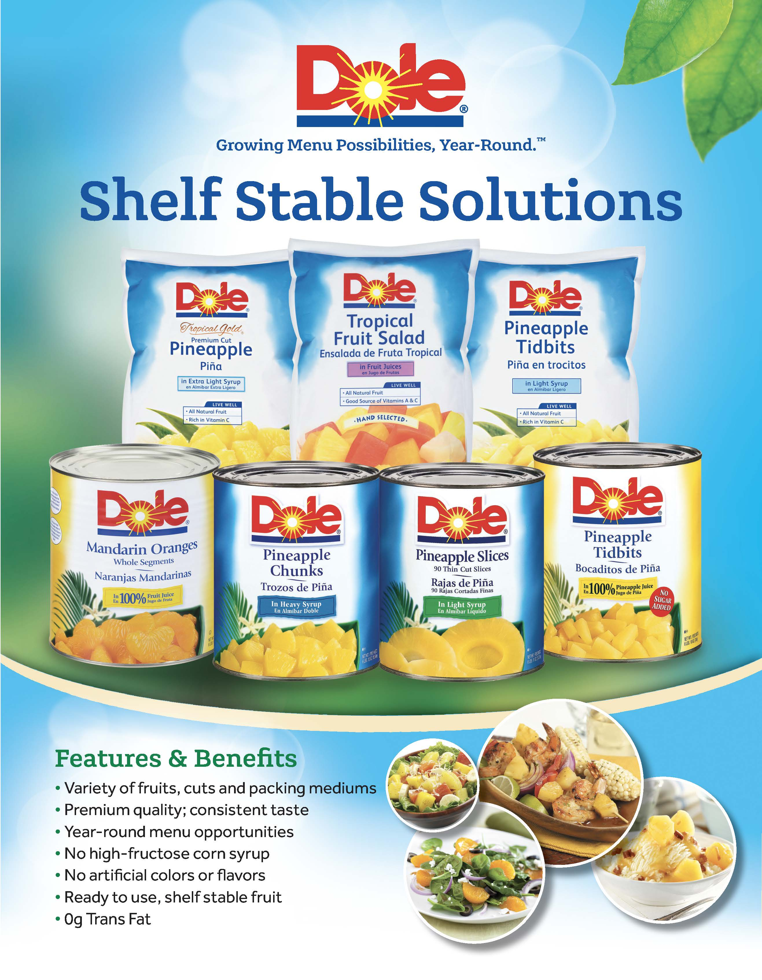 Dole canned fruit ss page 1 tcc00q